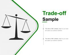 Trade Off Sample Presentation Backgrounds