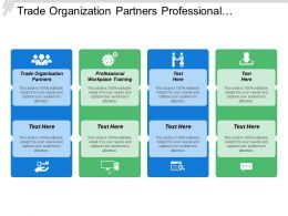 Trade Organization Partners Professional Workplace Training Research Discovery