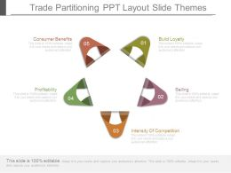 Trade Partitioning Ppt Layout Slide Themes