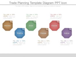 Trade Planning Template Diagram Ppt Icon