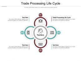 Trade Processing Life Cycle Ppt Powerpoint Presentation Portfolio Sample Cpb