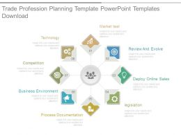 Trade Profession Planning Template Powerpoint Templates Download