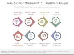 Trade Promotion Management Ppt Background Designs