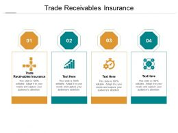 Trade Receivables Insurance Ppt Powerpoint Presentation Infographic Template Elements Cpb
