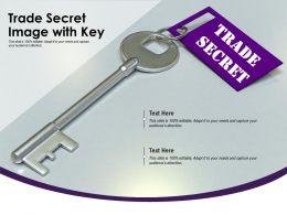 Trade Secret Image With Key