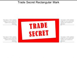 Trade Secret Rectangular Mark