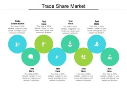 Trade Share Market Ppt Powerpoint Presentation Inspiration Formats Cpb