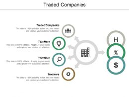 Traded Companies Ppt Powerpoint Presentation Icon Display Cpb