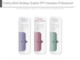 Trading Mark Strategy Graphic Ppt Examples Professional