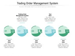 Trading Order Management System Ppt Powerpoint Presentation Layout Cpb