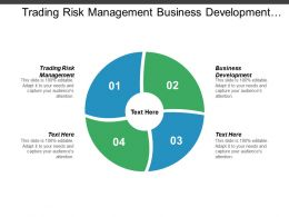 Trading Risk Management Business Development Value Chain Analysis Cpb
