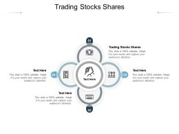 Trading Stocks Shares Ppt Powerpoint Presentation Styles Design Inspiration Cpb