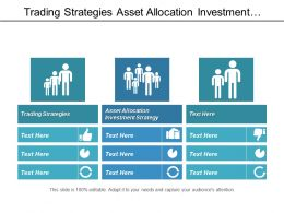 Trading Strategies Asset Allocation Investment Strategy Project Summary Cpb
