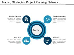 Trading Strategies Project Planning Network Marketing Risk Management Cpb