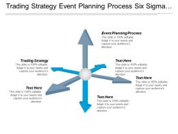 Trading Strategy Event Planning Process Six Sigma Event Marketing Cpb