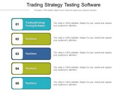 Trading Strategy Testing Software Ppt Powerpoint Presentation Infographic Template Summary Cpb
