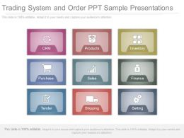 Trading System And Order Ppt Sample Presentations