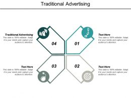 Traditional Advertising Ppt Powerpoint Presentation Infographic Template Brochure Cpb
