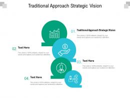 Traditional Approach Strategic Vision Ppt Powerpoint Presentation Pictures Gridlines Cpb