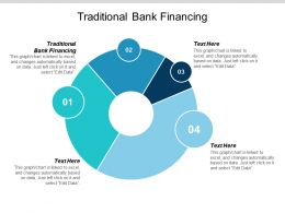 Traditional Bank Financing Ppt Powerpoint Presentation Visual Aids Show Cpb