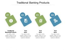 Traditional Banking Products Ppt Powerpoint Presentation Inspiration Cpb
