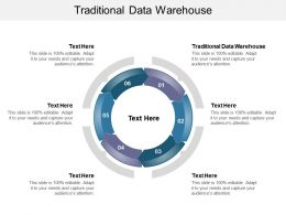 Traditional Data Warehouse Ppt Powerpoint Presentation Pictures Structure Cpb