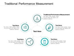 Traditional Performance Measurement Ppt Powerpoint Presentation Gallery Icon Cpb