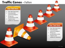 Traffic Cones Fallen PPT 1