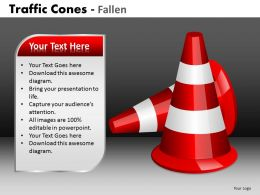 Traffic Cones Fallen PPT 3