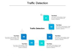 Traffic Detection Ppt Powerpoint Presentation Slides Example Cpb