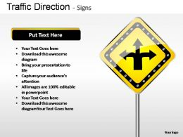 traffic_direction_signs_powerpoint_presentation_slides_Slide01
