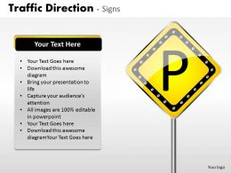 Traffic Direction Signs ppt 10