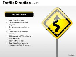 Traffic Direction Signs ppt 11