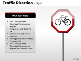 Traffic Direction Signs ppt 14