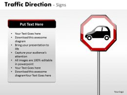 Traffic Direction Signs ppt 15