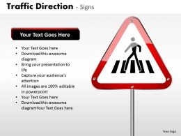 Traffic Direction Signs ppt 16