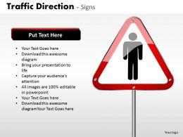 Traffic Direction Signs ppt 17