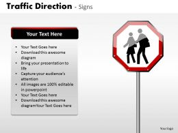 Traffic Direction Signs ppt 18