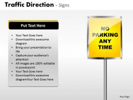 Traffic Direction Signs ppt 19