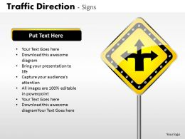 Traffic Direction Signs ppt 1