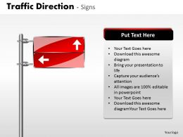 Traffic Direction Signs ppt 20