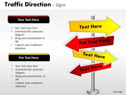 Traffic Direction Signs ppt 21