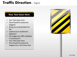 Traffic Direction Signs ppt 22
