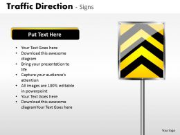 Traffic Direction Signs ppt 23