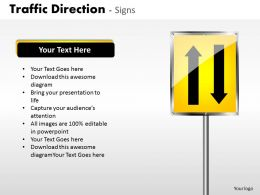 Traffic Direction Signs ppt 24