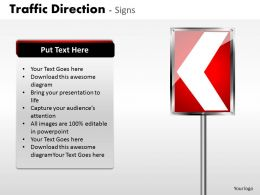 Traffic Direction Signs ppt 25