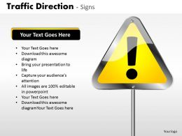 Traffic Direction Signs ppt 26