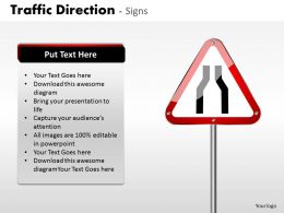 Traffic Direction Signs ppt 2