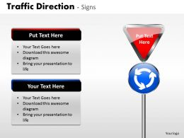 Traffic Direction Signs ppt 3