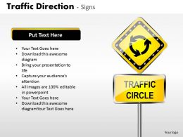 Traffic Direction Signs ppt 5